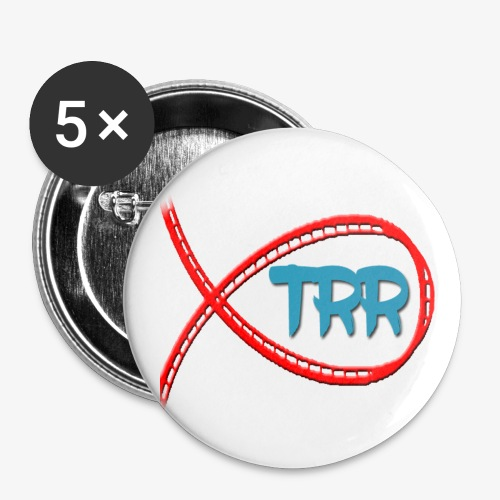 Buttons large 56 mm - TRR Pin Badge perfect for all pin badge collectors!