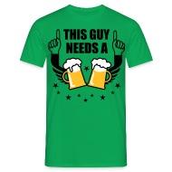 Schön This Guy Needs A Beer 2 Mass Bier Prost Spruch T Shirt   Bavaria Fashion    Kultige Trachten Shirts U0026amp; Accessoires Für Bayern Fans