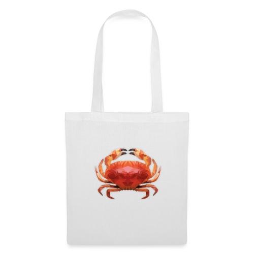 Low Poly Crab Bag - Stoffbeutel