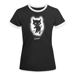 Dirty little Pussy - T-shirt contraste Femme