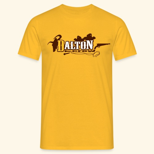 T-Shirt Homme Jaune - Original Édition - Dalton Crew Clothing - T-shirt Homme