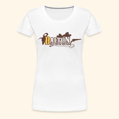 T-Shirt Femme Blanc - Original Édition - Dalton Crew Clothing - T-shirt Premium Femme