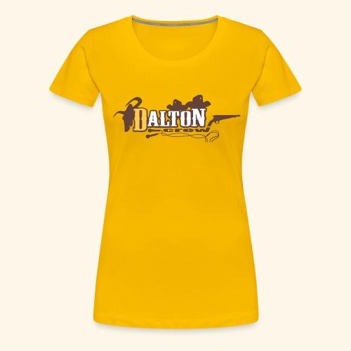 T-Shirt Femme Jaune - Original Édition - Dalton Crew Clothing - T-shirt Premium Femme