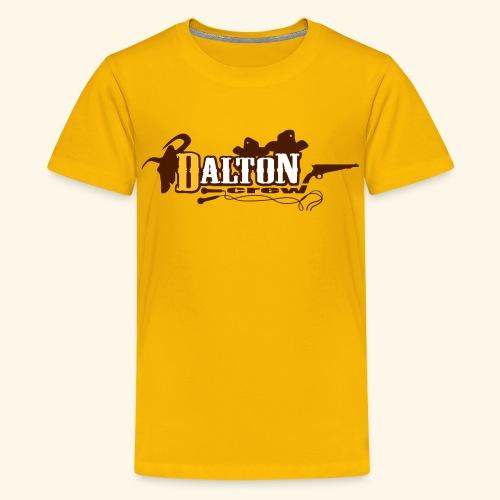 T-Shirt Ado Jaune - Original Édition - Dalton Crew Clothing - T-shirt Premium Ado