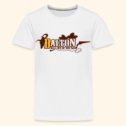 T-Shirt Ado Blanc - Original Édition - Dalton Crew Clothing - T-shirt Premium Ado