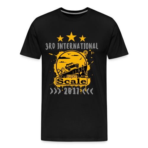 T-Shirt – Front: Logo / Back: --- - Männer Premium T-Shirt