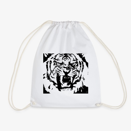 Beutel tiger - Turnbeutel