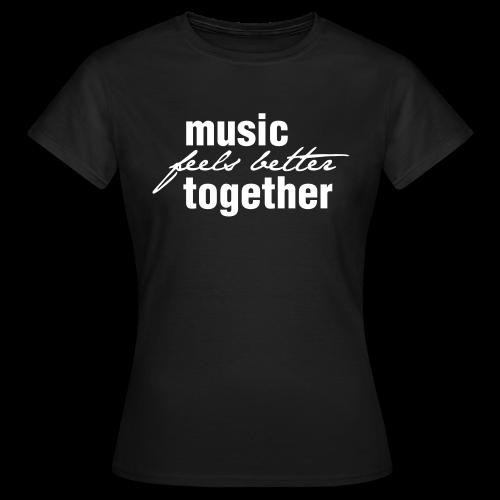 Frauen T-Shirt dunkel / Print hell - Frauen T-Shirt