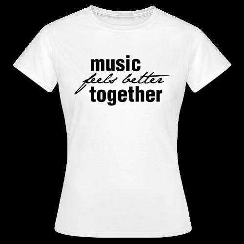 Frauen T-Shirt hell / Print dunkel - Frauen T-Shirt