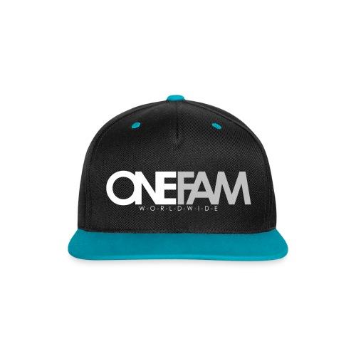ONE FAM 2k17 - Kontrast Snapback Cap