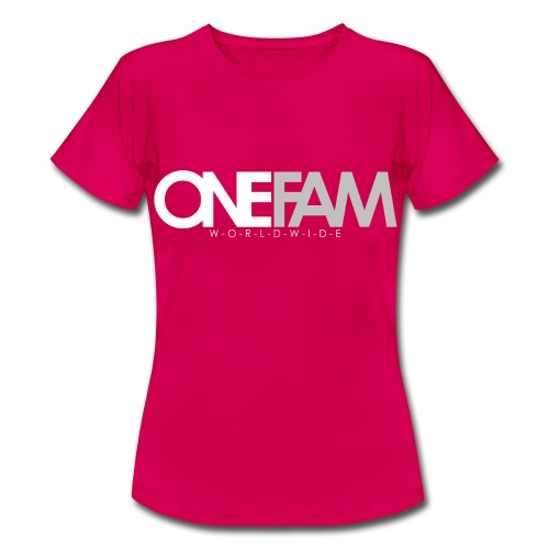 ONE FAM 2K17 - Frauen T-Shirt