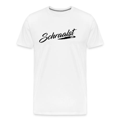 schraalst shirt b - Mannen Premium T-shirt