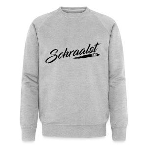 schraalst sweater b men - Mannen bio sweatshirt van Stanley & Stella