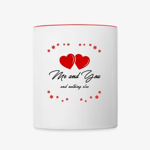 San Valentino Mug - Tazze bicolor