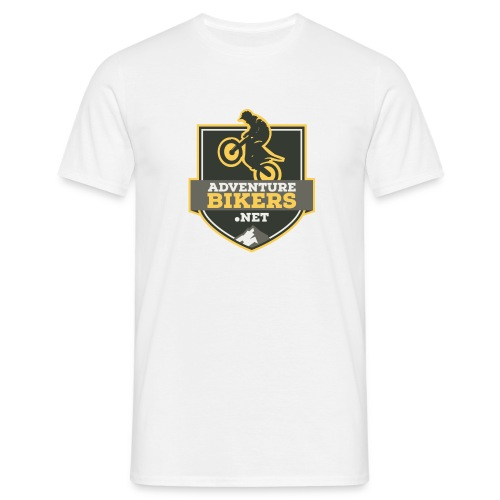 Adventure Bikers T Shirt - Shield logo - Men's T-Shirt