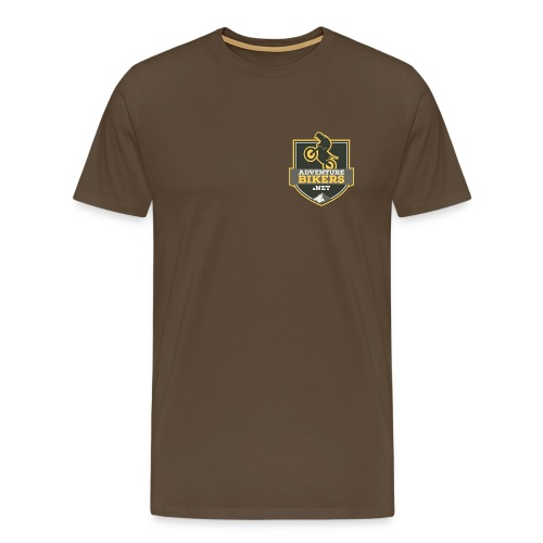 Adventure Bikers Premium T Shirt - Pocket Logo - Men's Premium T-Shirt