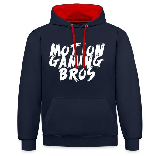 MotionGamingBros Scream Hoodie - Kontrast-Hoodie
