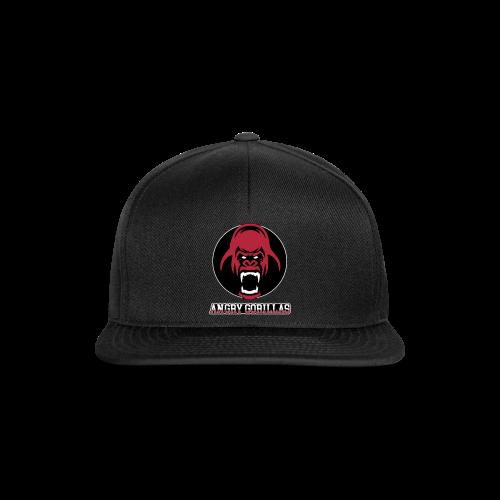 ANGRYGORILLAS Snapback Black (Logo) - Snapback Cap