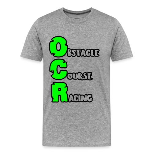 Männer Basic T-Shirt OCR einfach (hell) - Männer Premium T-Shirt