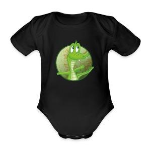 Kroko - Baby Kurzarm-Body - Baby Bio-Kurzarm-Body