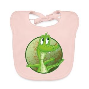 Kroko - Baby Bio-Lätzchen - Baby Bio-Lätzchen