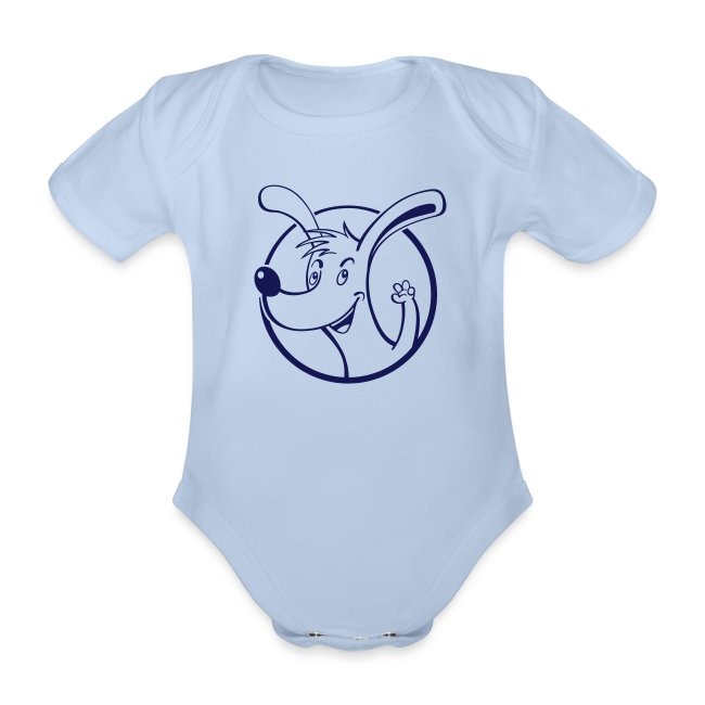 Wuff - Baby Kurzarm-Body