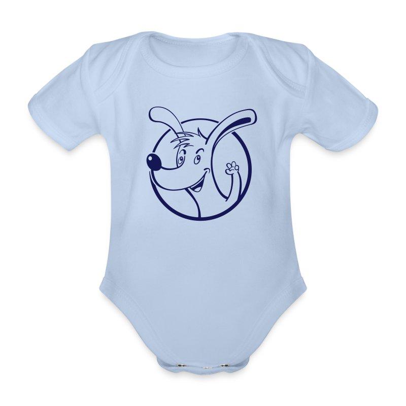 Wuff - Baby Kurzarm-Body - Baby Bio-Kurzarm-Body