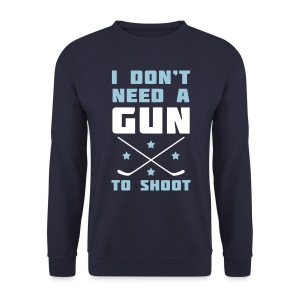 I Don't Need A Gun To Shoot Men's Sweatshirt - Men's Sweatshirt