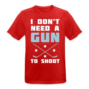 I Don't Need A Gun To Shoot Men's Breathable T-Shirt - Men's Breathable T-Shirt