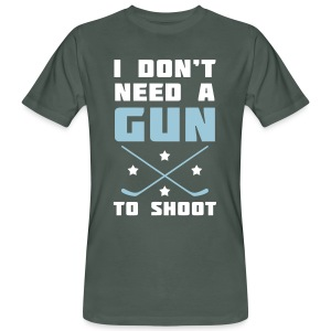 I Don't Need A Gun To Shoot Men's Organic T-Shirt - Men's Organic T-shirt