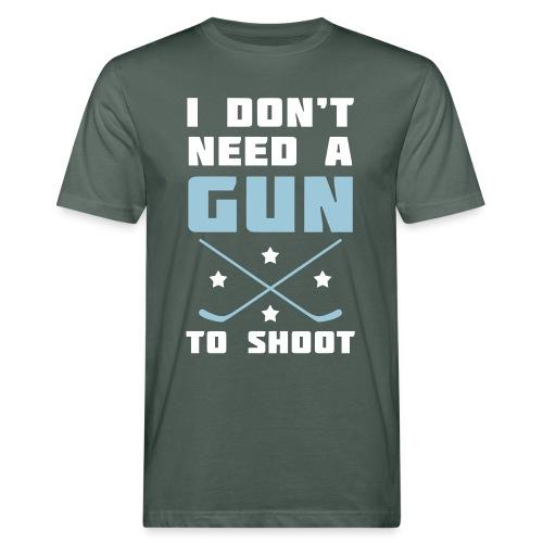 I Don't Need A Gun To Shoot Men's Organic T-Shirt - Men's Organic T-Shirt
