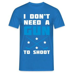 I Don't Need A Gun To Shoot Men's T-Shirt - Men's T-Shirt