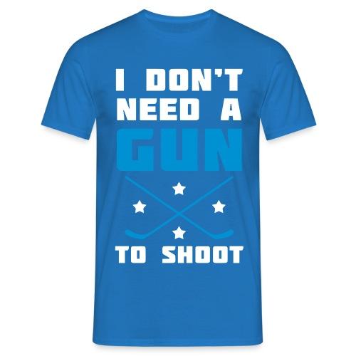 I Don't Need A Gun To Shoot Men's T-Shirt - Men's T-Shirt