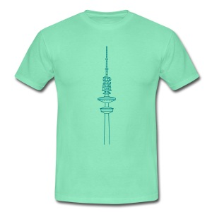 Heinrich-Hertz-Turm Hamburg - Männer T-Shirt