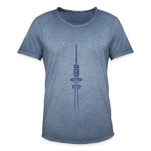 Heinrich-Hertz-Turm Hamburg - Männer Vintage T-Shirt