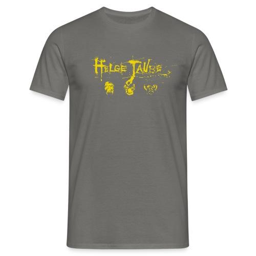 Schwarz Gelb - Männer T-Shirt