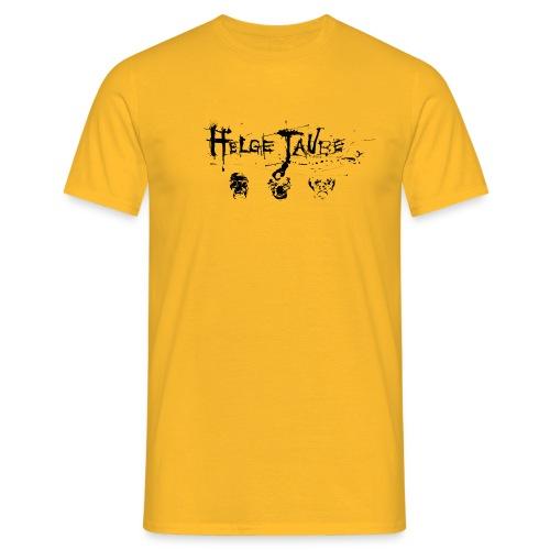 Gelb Schwarz - Männer T-Shirt