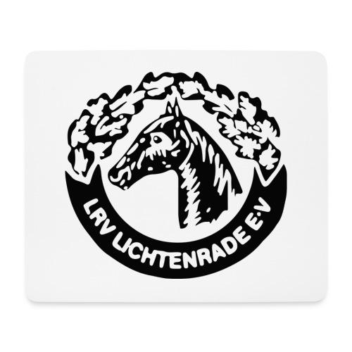 Mauspad mit großem LRV-Logo - Mousepad (Querformat)