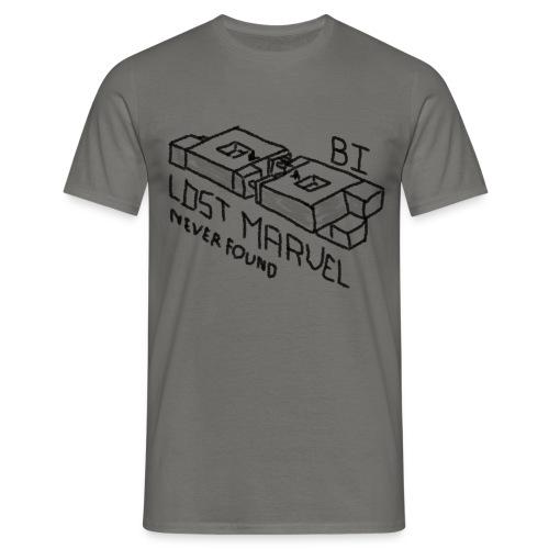 B1 - Lost Marvel - T-shirt herr