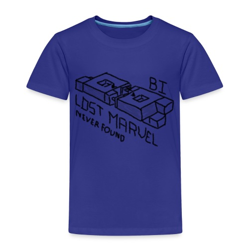 B1 - Lost Marvel - Premium-T-shirt barn
