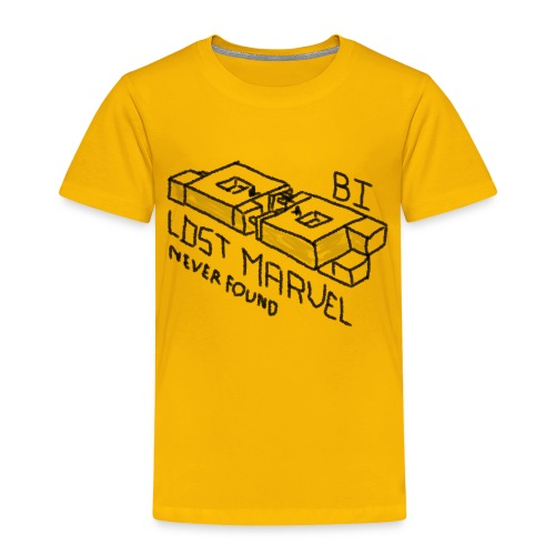 B1 - Lost Marvel - Premium-T-shirt barn