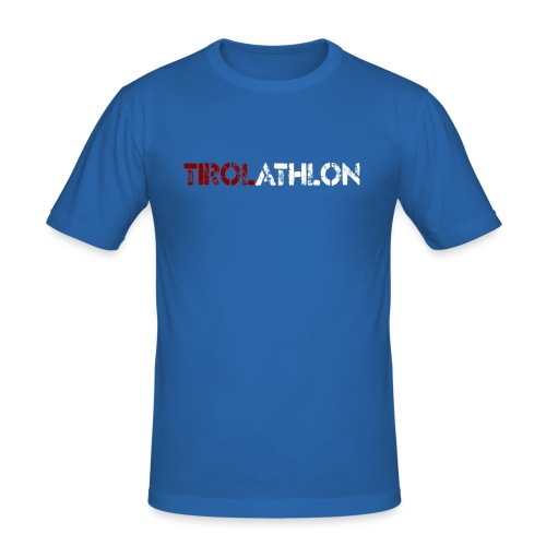 Tirolathlon Shirt oneside - Männer Slim Fit T-Shirt