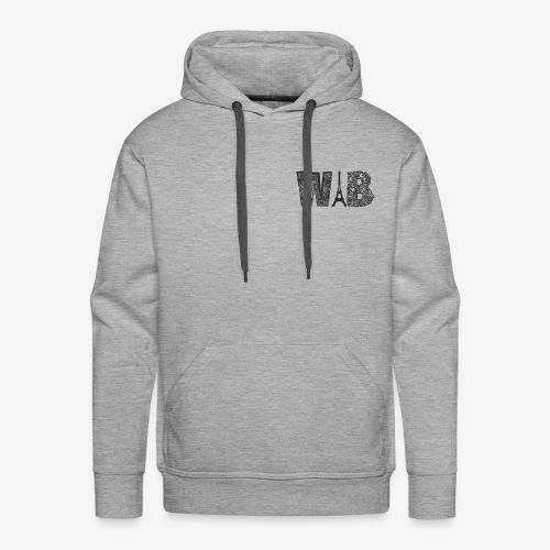 EIFFEL HOODIE GRIS - Sweat-shirt à capuche Premium pour hommes
