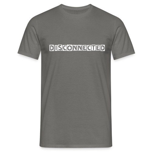 Disconnected - T-shirt herr