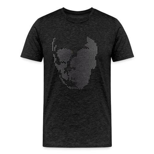 Totenkopf aus Ameisen - Männer Premium T-Shirt
