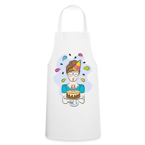 """Tablier Joyeux Anniversaire"""" - Tablier de cuisine"""