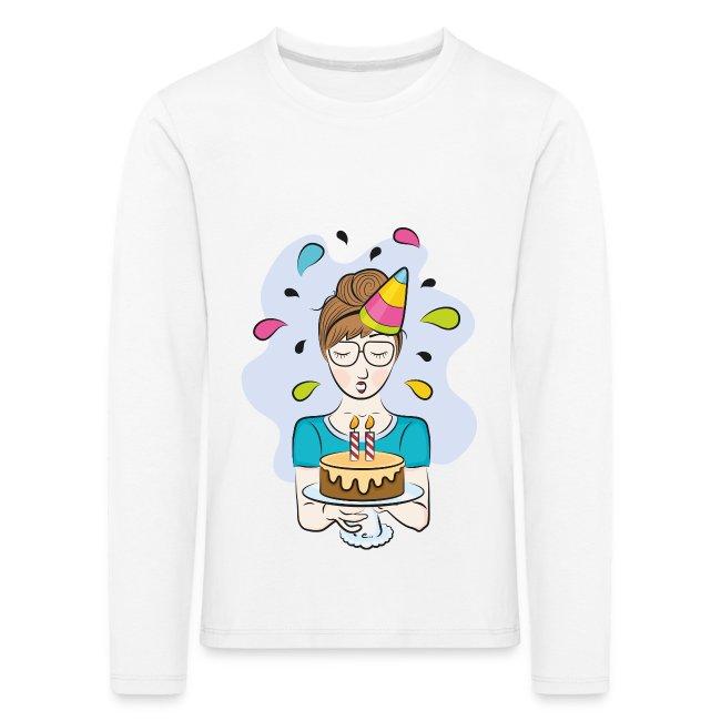 """T-shirt Enfant """"Joyeux Anniversaire"""""""