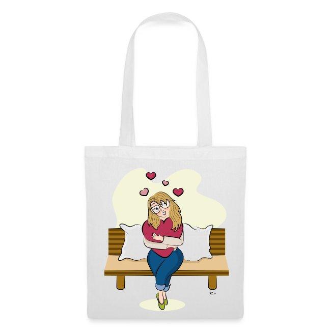 """Tote Bag """"Saint-Valentin"""""""