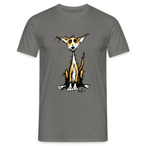 Rauhaar podi - Männer T-Shirt