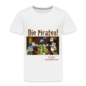 Kinder T-Shirt Piraten 1 Piratenrat - Kinder Premium T-Shirt